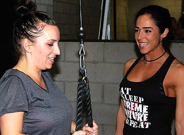 XtremeCouture Trainers Helping Members