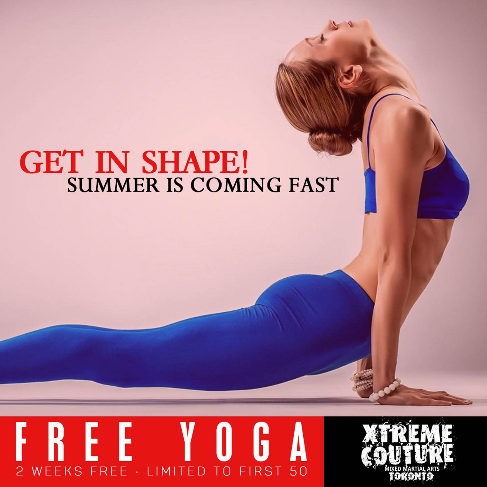 Free Yoga for 2 Weeks