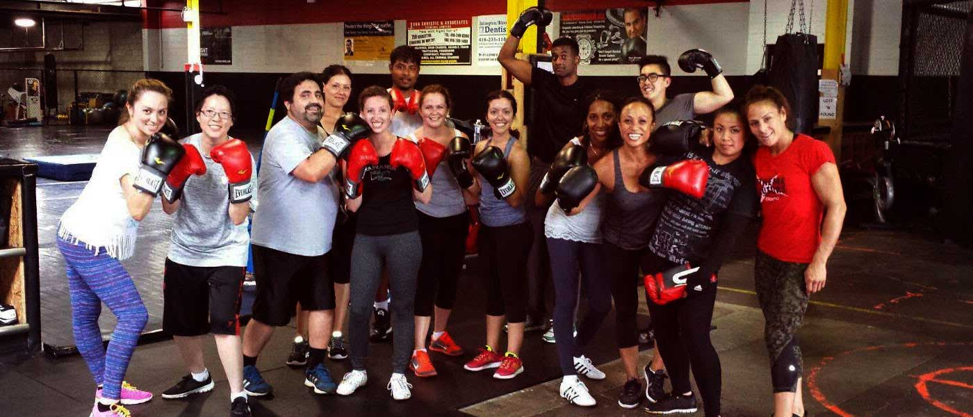 Boxing Class at Xtreme Couture
